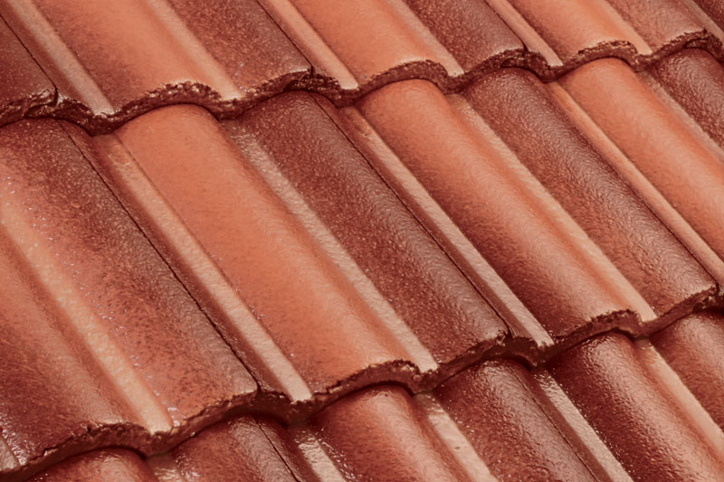 Genting Monier Terra Brown 204 Roof Tiles